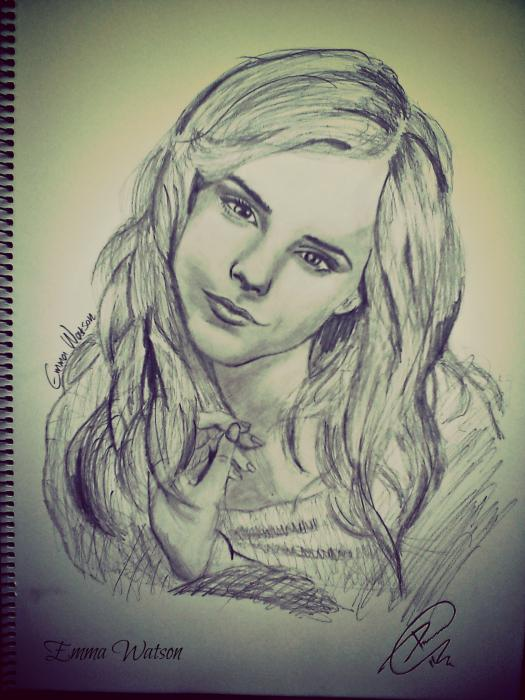 Emma Watson por Mitsos